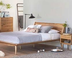 Modern Platform Bed Queen Bed Frames Danish Modern Headboard Queen Danish Teak Furniture