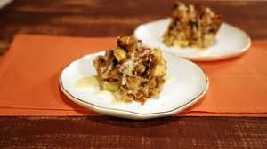 cinnamon raisin bread pudding recipe the chew abc
