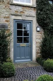 Navy Blue Front Door Front Door Ideas Potted Trees Curb Appeal And Front Doors