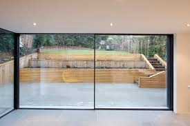 Patio Window by Www Iqglassuk Com Minimal Windows Sliding Doors To Rear Of