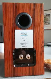 Review Bookshelf Speakers Review Musical Paradise Mp S1 Bookshelf Speakers Wall Of Sound