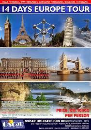 oscar tours europe tour package