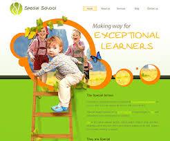 play school brochure templates play school brochure templates 22 free education html website