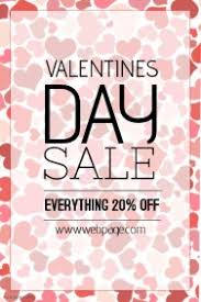valentines sales s retail poster templates postermywall