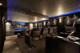 Home Theatre Design Los Angeles Rexford Residence Contemporary Home Theater Los Angeles By