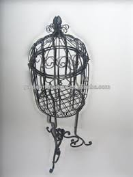 Decorative Bird Cages Wholesale Wholesale Cheap Round Parakeet Birdcage With Stand Wrought Iron