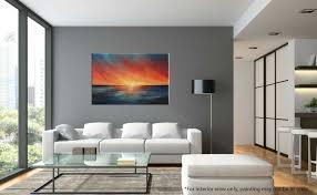 the edge of sunset seascape painting liz w fine art gallery