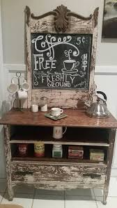 Coffee Bar Table Best 25 Kitchen Coffee Bars Ideas On Pinterest Coffe Bar
