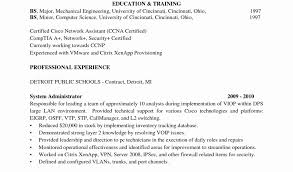 Network Engineer Sample Resume by Computer Systems Engineer Cover Letter New Chic Design Vmware
