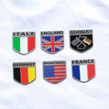 mercedes shop usa shop 3d metal usa uk gremany italy national flag car