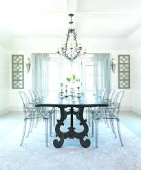 Ghost Dining Chair Dining Table With Ghost Chairs Ghost Chairs Dining Room Dining