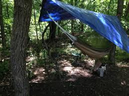 backyard hammock hang and wild camp practice youtube