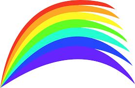 clipart rainbow