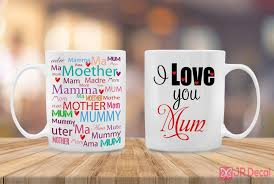 best mum in the world printed mothers day mug novelty gift ideas