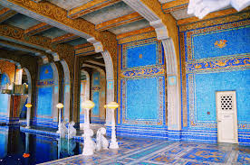 hearst castle interiors a weekend crossing
