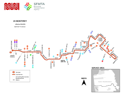 Muni San Francisco Map by 23 Monterey Bus Schedule Sf Muni Sf Bay Transit