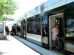 valley metro light rail schedule phoenix valley metro airport station stop youtube