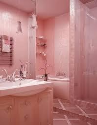 Best Pink Bathrooms Images On Pinterest Pink Bathrooms - Girls bathroom design