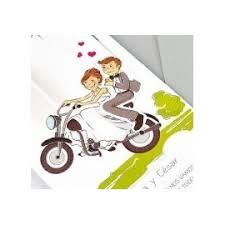 mariage humoristique faire part mariage humoristique en moto