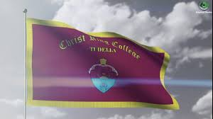 College Flag Christ King College Tudella Flag Youtube