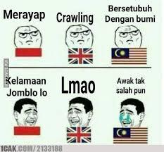 Meme Indo - 10 meme terjemahan indonesia malaysia ini bikin ketawa riang gembira