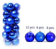 Blue Christmas Decorations Uk by Christmas Ornaments Balls Dark Blue Xmas Tree Hanging Baubles