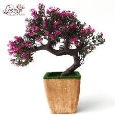 fake flower decoration small bonsai plants artificial flower