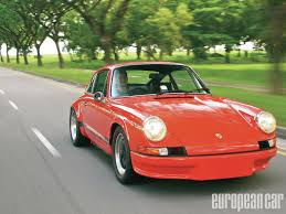 porsche 911 front view porsche 911 carrera rs 2 7 replica european car magazine