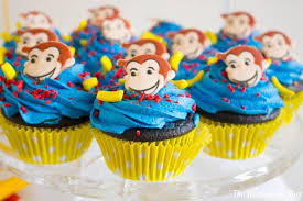 Curious George Party JavaCupcake