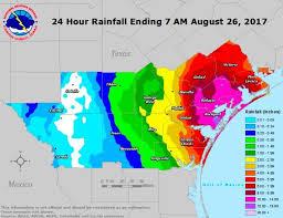 rainfall totals map corpus christi rainfall totals for hurricane harvey aug 26