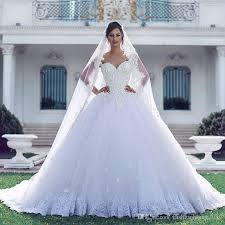 arabic style vintage lace ball gown wedding dresses appliques plus