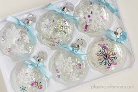 snowflake ornaments a random act of kindness plain vanilla