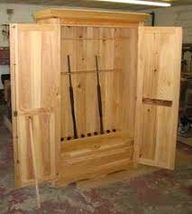 free gun cabinet plans with dimensions homemade gun cabinet plans home design ideas
