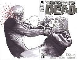 walking dead sketches to be auctioned off for hero initiative