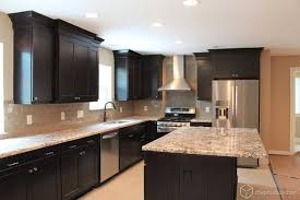 Black Kitchen Cabinet Ideas Best 25 Black Kitchen Cabinets Ideas On Pinterest Black Within