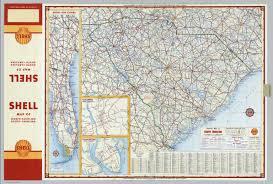 Map Of Charleston South Carolina Shell Highway Map Of South Carolina David Rumsey Historical Map