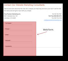 how to snag a sale from simple contact us page form d vawebs