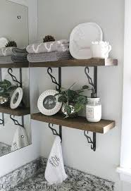 bathroom shelves ideas diy rustic bathroom shelves hometalk