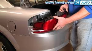 How To Install Replace Change Broken Taillight And Bulb Dodge
