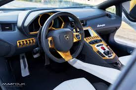 lamborghini gallardo inside lamborghini aventador golden edition by maatouk design gtspirit