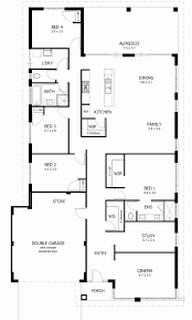 1 story floor plan awesome house plans 4 bedroom 1 story pictures ideas house design