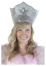 Glinda Good Witch Halloween Costume Sparkle Witch Crown