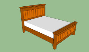bed frames homemade bed frames plans queen size bed frame plans