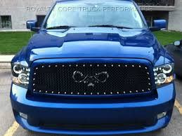 dodge ram 1500 grill dodge ram 1500 2009 2012 rc2 grille mesh with goat skull