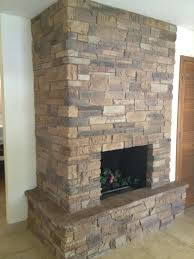 refacing your fireplace stone resurface with tile pictures reface