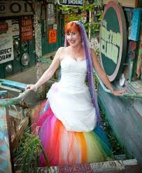 lgbt wedding dresses stunning rainbow fashion looks for your wedding equally