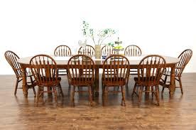 oak vintage dining set 54