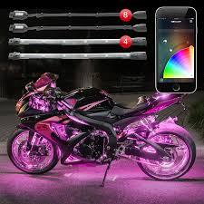 Led Light Strip Kits by Xkchrome Ios Android App Bluetooth Control Advanced 8 Pod 4 Strip