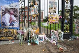 Where Is Kensington Palace Princes William Harry Visit Princess Diana U0027s Memorial Garden