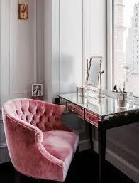 Velvet Vanity Chair 25 Ideas To Create An Ultimate Makeup Nook Digsdigs